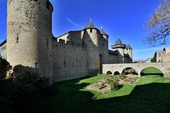 Carcassonne, Languedoc-Roussillon, January 2017 410 (tango-) Tags: rossiglione francia castello castle lacité