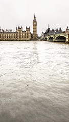 London (Thomas Rotte) Tags: london united kingdom big ben thames westminster abbey palace river water 169 vertical far distance perspective bridge architecture england english