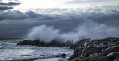 Tempesta [Explored] (llorenc.coll) Tags: mediterraneansea coloniadesantpere mallorca seashore