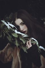 Like a painting (Giorgia Cinelli) Tags: painting paint ritratto retratos portrait portraitgirl portraitworld portraiture snow winter girl beautiful beauty dark darkness brushes nature doll photography young teen
