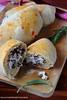 Calzoni con radicchio & ricotta 1 (Giovanna-la cuoca eclettica) Tags: lievitati pizzeefocacce verdure veg ricotta latticini food healthy stilllife