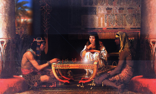 "Senet - Lujoso sistema de objetos lúdicos obsequio del dios Toht a la faraona Nefertari • <a style=""font-size:0.8em;"" href=""http://www.flickr.com/photos/30735181@N00/32399619281/"" target=""_blank"">View on Flickr</a>"