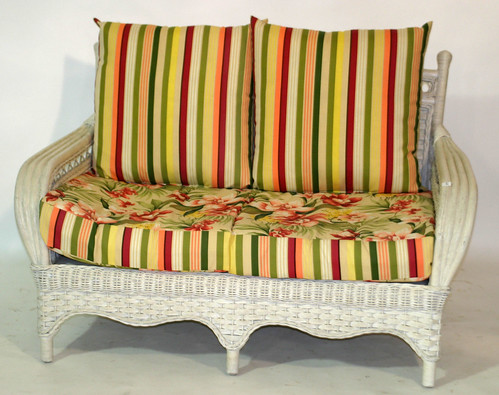 All Weather Wicker Love Seat & Chair ($154.00)