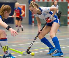 41291541-2 (roel.ubels) Tags: hockey zaalhockey indoor valkenhuizen arnhem sport topsport 2017 ma1 ja1 kampong schc denbosch amsterdam nk districtswinnaars halvefinale