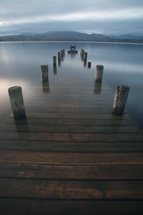 (Attila Pasek) Tags: lakedistrict uk cannon jetty lake longexposuretime