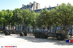 BDQJ09-4030 RENAULT G290 VTL (milinme.myjpo) Tags: frencharmy renault g290 vtl véhicule de transport logistique remorque rm19 trailer bastilleday