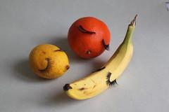 sleeping fruits (virginhoney) Tags: sleeping fruits lashes orange lemon banana studio atelier