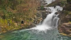 Fervenza da Fírveda (f@gra) Tags: water watermill waterfall rio river firveda fervenza cascada agua landscape paisaje galicia pontevedra spain sony sigma molino silk silkeffect seda efecto