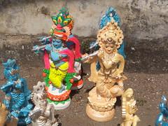 DSC01903 (bhagwathi hariharan) Tags: ganpati ganpathi lordganesha god nallasopara nalasopara pooja idols