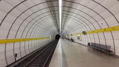 Rohr / Pipe (dolanansepur) Tags: architecture underground subway metro pipe tunnel ubahn rohr