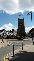 """Clock tower in town square, Coleford • <a style=""""font-size:0.8em;"""" href=""""http://www.flickr.com/photos/41849531@N04/17917472043/"""" target=""""_blank"""">View on Flickr</a>"""