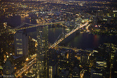 one world observatory (branko_) Tags: world bridge brooklyn one downtown manhattan ground center observatory trade zero