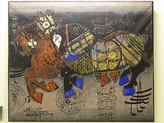 Sahebqraniyeh Palace Tehran (philip_wgtn_nz) Tags: horse art persian iran interior palace tehran farah shah niavaran pahlavi sahebqraniyeh ovissi