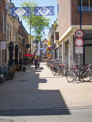 Groningen Hoogstraatje (Jeroen Hillenga) Tags: street city netherlands cityscape groningen stad straat hoogstraatje