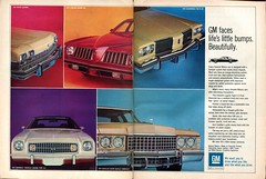 1974 General Motors Chevelle Laguna S-3 Cadillac Coupe deVille Pontiac Grand Am Advertisement Hot Rod February 1974 (SenseiAlan) Tags: hot 1974 am general grand chevelle cadillac motors advertisement rod pontiac laguna february deville s3 coupe
