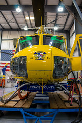 STARFlight (Joe Snowman) Tags: summer dedication austin texas unitedstates bell hangar helicopter capitol helipad atx starflight uh1h dellchildrensmedicalcenter canoneos70d kristinmclain