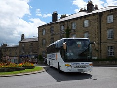 tn_NATIONAL HOLIDAYS SETRA NH11 CTH IN BAKEWELL - JUN 21 - 1 (focus- transport) Tags: road travel bus public buses derbyshire transport group first tm bakewell hulleys