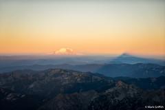 Morning Shadow (Mark Griffith) Tags: climb washington hiking top hike climbing mountaineering summit epic alpinism overnighter mtstuart alpinelakewilderness mountstuart benighted wildernesss 20150704dsc07767