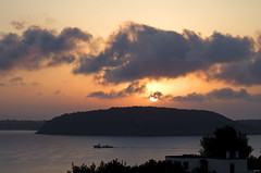 Sunrise (Lorenoir) Tags: sky cloud sun sunshine clouds sunrise campania pentax napoli naples ischia vivara pentaxiani pentaxk50