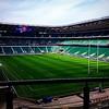 Preparation for tomorrow's game is done... (Max Barson) Tags: twickenham 6nations comeonengland jobperk uploaded:by=flickstagram instagram:photo=94005432460331830442230827 engvscot