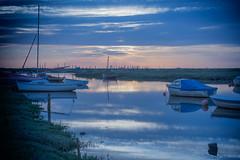 Morston Quay, Norfolk UK (16) (Nick Bowman1) Tags: uk england reflection silhouette boats unitedkingdom norfolk gb nationaltrust blakeney morstonquay sonya99 sonyzeissvariosonnar2470f28