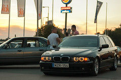(Csarank Dvid) Tags: angel eyes 5 bmw series touring 5er e39 530d