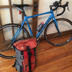 #TreeFrog #Travel #Summer #BikePacking #TrainHopping #Randonee #Collegeville #LakeSag #Cycling #Timbuk2 #WhatsInYourBag (mlmck) Tags: travel summer cycling whatsinyourbag timbuk2 treefrog randonee collegeville trainhopping bikepacking lakesag