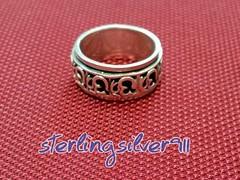 Model No _ R26 (sterlingsilver911) Tags: silver handmade jewelry ring spinning sterling rotating 925 صناعة يدوية خاتم دوار حلي فضة مجوهرات بيع شراء تخفيض استرليني