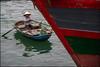 Boat.  Bai Tu Lang bay (Claire Pismont) Tags: baitulangbay viajar voyage vietnam vietnammars2016 boat pismont clairepismont colorful couleur color colour rowing travel travelphotography