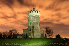 Clifton Observatory (Steve Moore-Vale) Tags: bristol observatory night clouds longexposure clifton buildings light painting motion