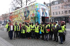 fun social learning (Chris Sinfield) Tags: kindness bus speakstreet london routemaster thekindnessoffensive social learning fun english