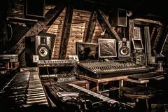 The Kev's Home Studio! (L'Oeil De Palo) Tags: hdr 1635 700d canon music sound studio homestudio