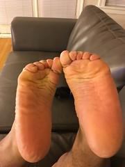 IMG_9815 (_bagent1) Tags: myfeet boyfeet chubbyfeet barefeet bearfeet thickfeet chubbytoes chubby chubbysoles soles slides sandals tops toes