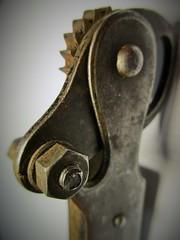 Iron Horse -  Macro Mondays Contraption (seanwalsh4) Tags: macromondays contraptions sean walsh ironhorse bristol flickr hmm 1940tinopener rivalextra gadget metal