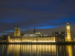 Parliament at night (Nigel Wallace1) Tags: westminster parliament longexposure olympus omdem1 1240mm night london life sunset dusk nighttime thames river capital city