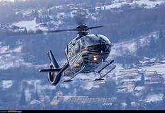 Sion Airport: Eurocopter EC 135P2+ (Simone Ciaralli - AirTeamImages) Tags: saimonvolo saimon simone ciaralli sion switzerland aviation avgeek airteamimages olympus zuiko