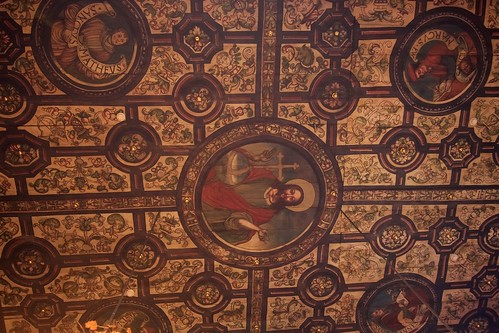 Dekoracja stropu prezbiterium kościoła w Boguszycach