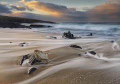 Traigh Bheag (The Small Beach), Isle of Harris, Scotland (MelvinNicholsonPhotography) Tags: traighbheag harris isleofharris scotland outerhebrides beach water ocean tide aqua sand sandybeach rocks gitzo manfrotto leefilters mindshiftgear melvinnicholsonphotography seascape