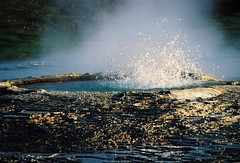 Iceland (ClaDae) Tags: iceland europe nature water smoke geyser colors world earth scenery travel fumeroles fumaroles mud pools boiling sulphurous hverir volcanic northatlanticocean nordicisland island travelphotography adifferentpointofview