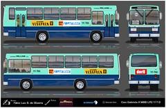 111 766 Expresso William - Caio Gabriela II (busManíaCo) Tags: busmaníaco desenho drawing drawn urbanos ônibus 111 766 expresso william caio gabriela ii