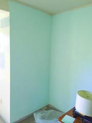 Bedroom Blues (skipthefrogman) Tags: blue house wall painting paint batman 70s