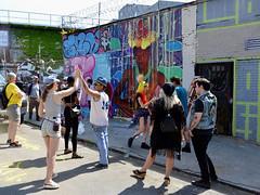 High Five (Eddie C3) Tags: newyorkcity streetart art graffiti graffitiartist astoriaqueens wellingcourt wellingcourtmuralproject 6thannualwellingcourtmuralproject