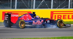 Max Verstappen Toro Rosso at the Hairpin testing the brakes (ericok) Tags: canada montreal grand canadian grandprix prix gp 2015 f1gp canadiangrandprix