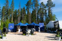 Trelleborg at Skogsnolia forestry exhibition  (12) (TrelleborgAgri) Tags: sweden forestry twin exhibition range pneumatici skidder forestali t414 skogsnolia progressivetraction