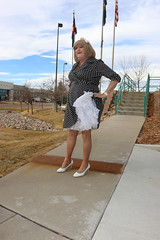 new112535-IMG_7463t (Misscherieamor) Tags: tv feminine cd tgirl transgender mature sissy tranny transvestite crossdress ts gurl tg travestis travesti travestie m2f polkadotdress hairribbon xdresser tgurl slipshowing petticoatshowing