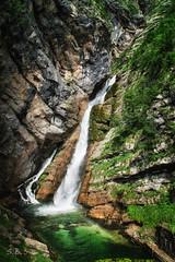 Savica waterfall - Bohinj, Slovenia (sbabic911) Tags: waterfall slovenia bohinj savica
