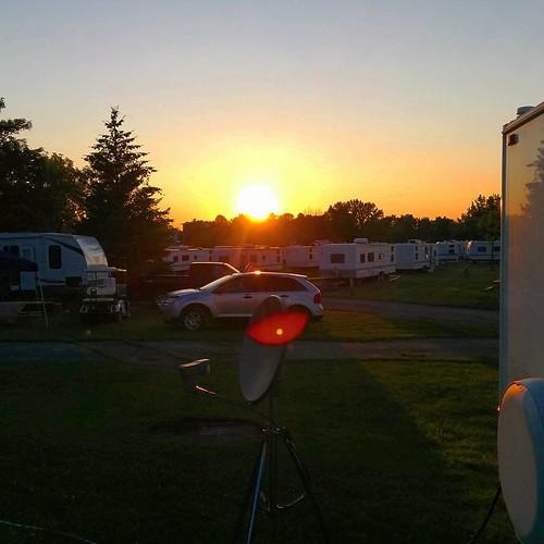 Purdy... #Sunset #upstateny #darienlake