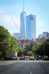 IMG_0385 (kz1000ps) Tags: nyc newyorkcity tower architecture skyscraper one cityscape manhattan worldtradecenter greenwichvillage trumpsoho onesohosquare