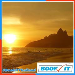 เรายังอยู่ที่ริโอกันนะๆ  Ipanema beach (อิป-ปา-เน-มา) สวยขนาด หนังเรื่อง James Bond ไปถ่ายทำที่หาดนี้  Frank Sinatra มาร้องเพลง Girl from Ipanema ฟีเจอริ่งกับ เจ้าพ่อ Bossa Nova Antônio Carlos Jobim and Vinicius de Moraes ทำเวอร์ชั่นภาษาอังกฤษของเพลงนี้ขึ