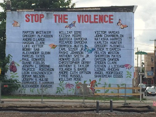 Stop the Violence in Philadelphia by Wesley Fryer, on Flickr
